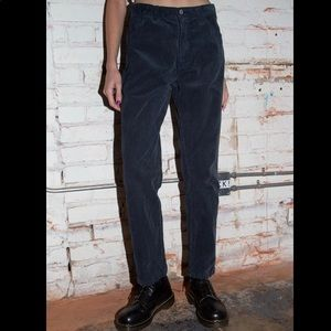 Brandy Melville claire corduroy pants